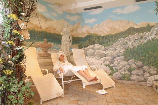 Photo of the wellness area Hotel Stella Alpina