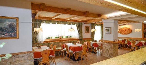 The restaurant Moena Stella Alpina