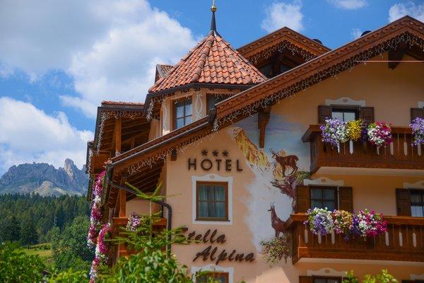 Photo exteriors in summer Stella Alpina