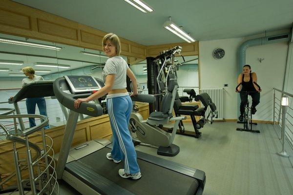 Foto della zona fitness Albergo San Marco