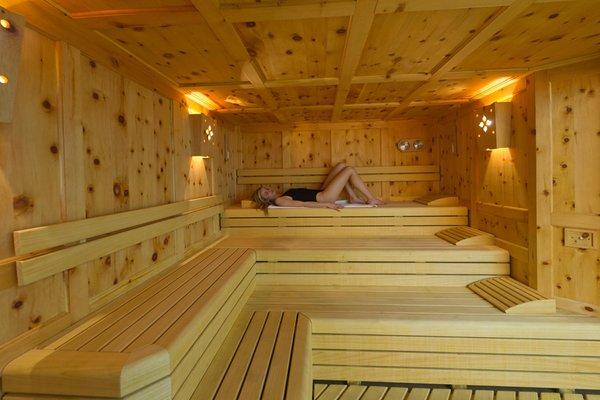Foto della sauna Passo San Pellegrino