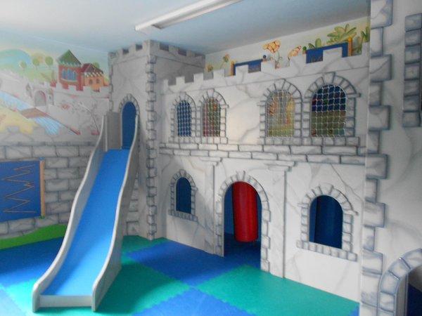 La sala giochi Albergo San Marco