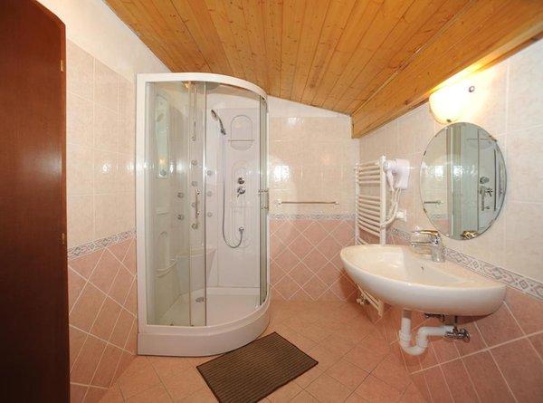Foto del bagno Hotel Bucaneve
