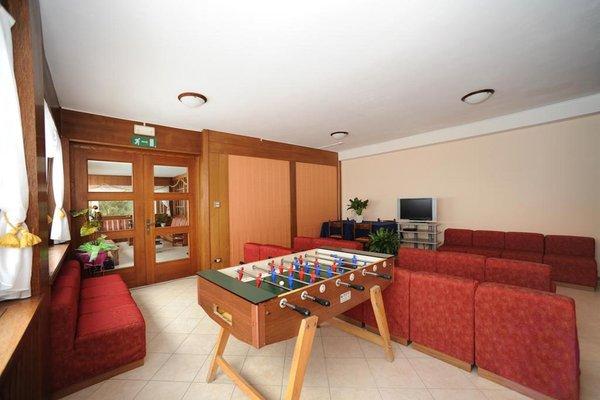 Le parti comuni Hotel Bucaneve