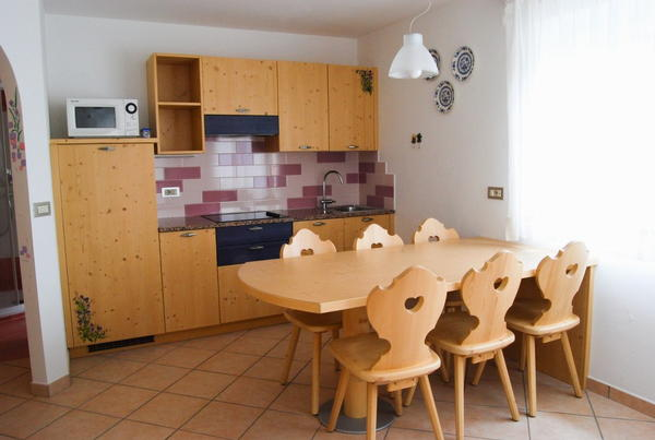 Foto della cucina Cèsa Maria Mountain Hospitality Canazei