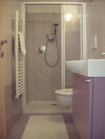 Foto del bagno Appartamenti Cèsa Maria Mountain Hospitality Canazei