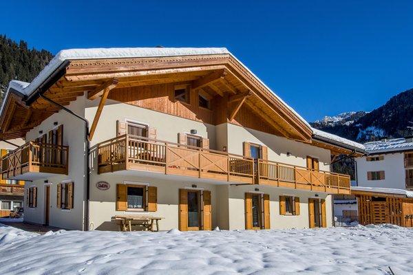 Foto invernale di presentazione Cleva - Appartamenti 4 genziane