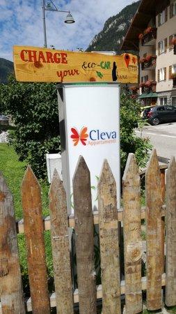 Foto di alcuni dettagli Cleva