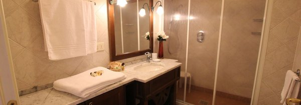 Foto del bagno Residence Villa Avisio