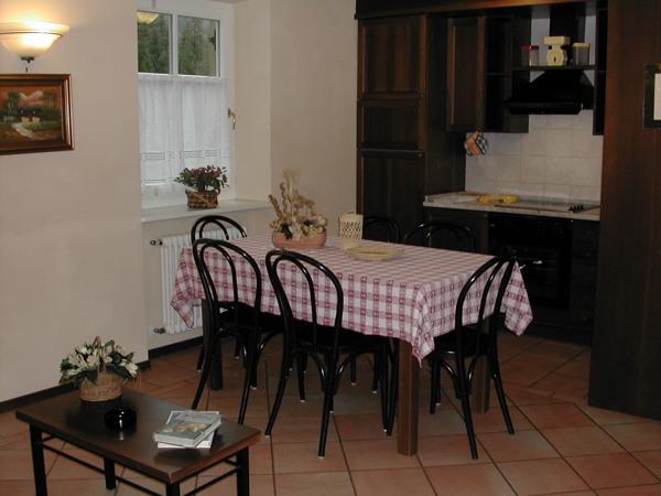 Foto della cucina Villa Avisio