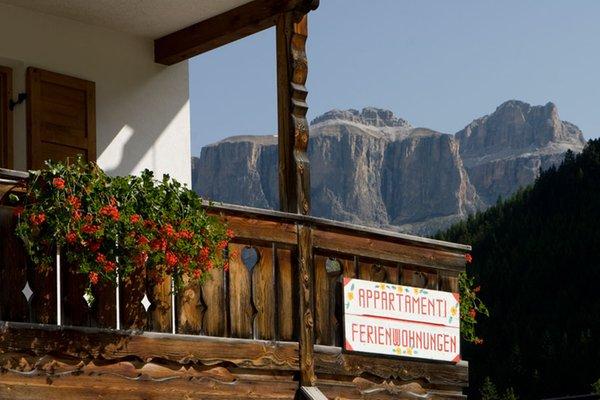 Foto del balcone Cèsa Ciasates
