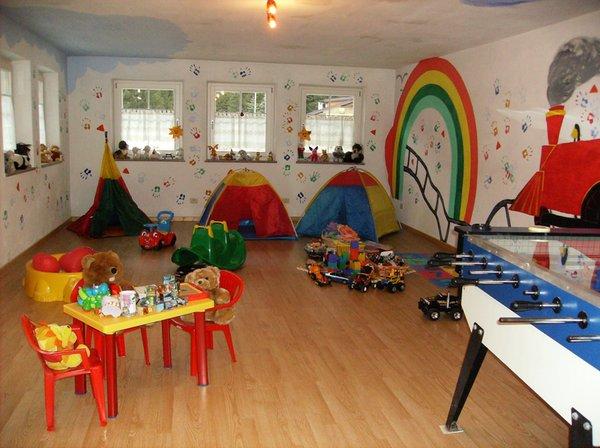La sala giochi B&B + Appartamenti Cèsa Ciasates