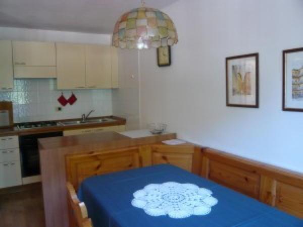 Foto della cucina Villetta Pordoi