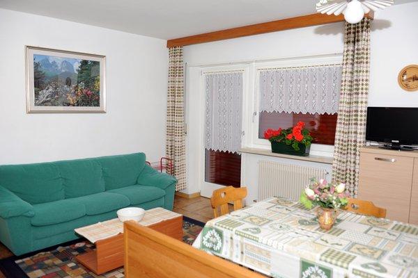 La zona giorno Riz Diego - Appartamenti 3 genziane