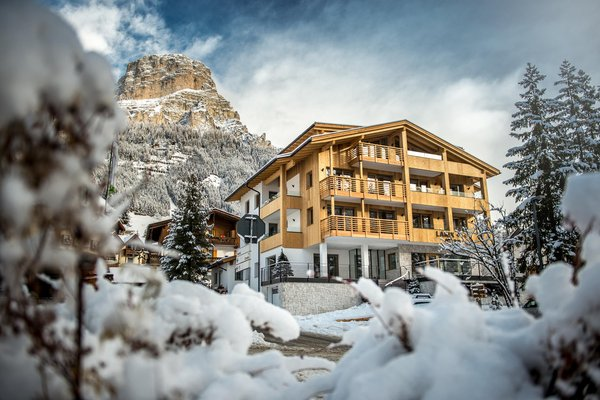 Foto invernale di presentazione Larix - Garni-Hotel + Appartamenti 3 stelle