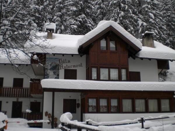 Foto invernale di presentazione Villa Antermont - Appartamento 3 genziane