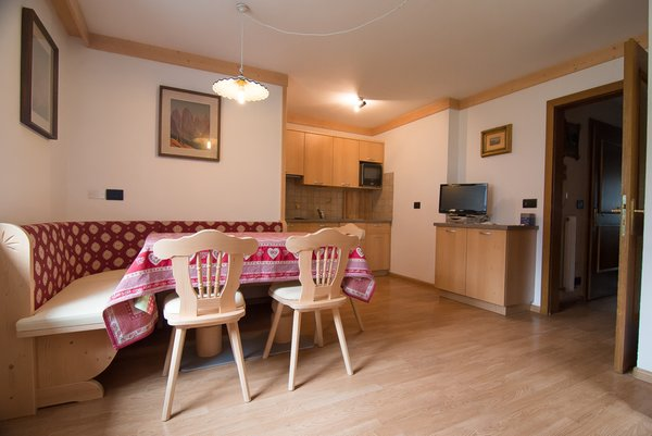 La zona giorno Cèsa Farinol - Camere + Appartamenti 3 genziane
