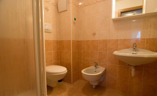 Foto del bagno Camere + Appartamenti Cèsa Farinol