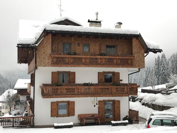 Winter presentation photo Iori Luciano - Apartments 3 gentians