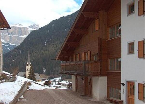 Foto invernale di presentazione Dantone - Appartamenti
