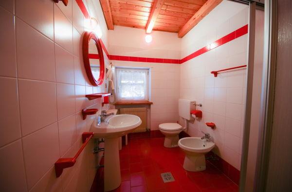Photo of the bathroom Apartments Casa Lorenz