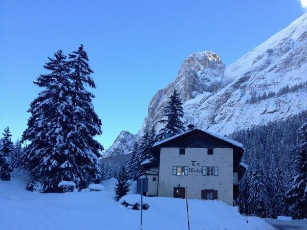 Winter Präsentationsbild Ta Moki - Ferienwohnung 3 Enziane