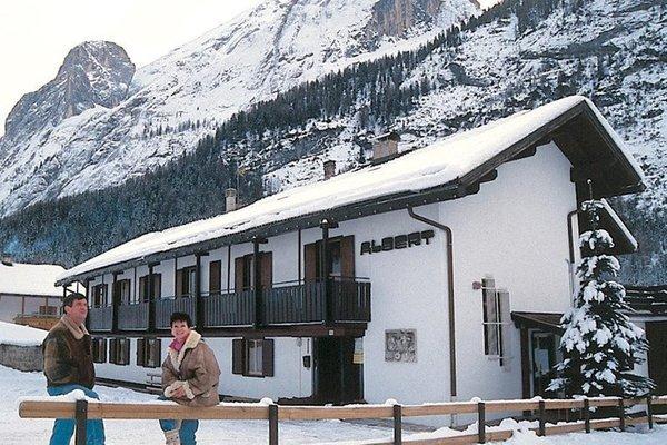 Foto invernale di presentazione Albert - Appartamenti 3 genziane