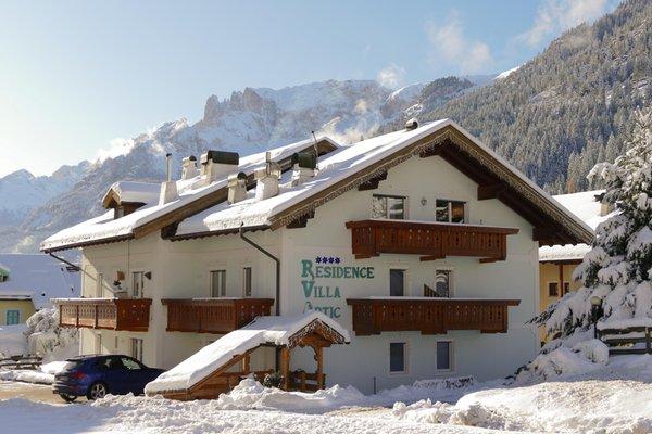 Foto Außenansicht im Winter Villa Artic