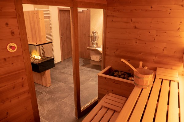 Foto der Sauna Campitello di Fassa