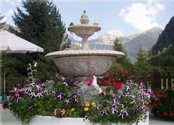Foto del giardino Campitello di Fassa