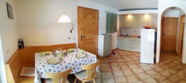 The living area Villa Bernard - Apartments 3 gentians