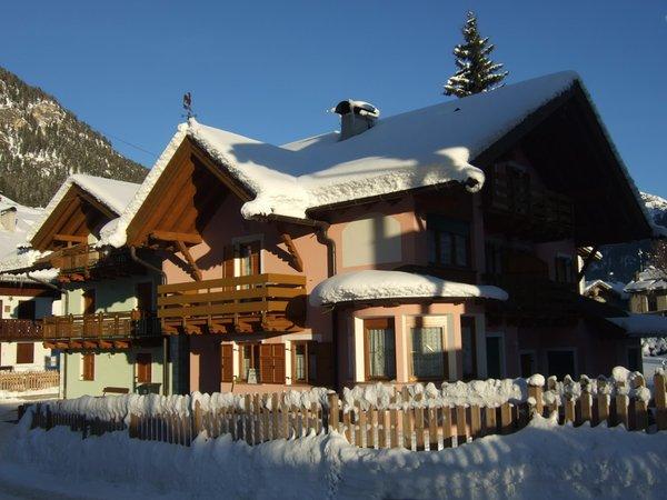 Photo exteriors in winter Villa Bernard