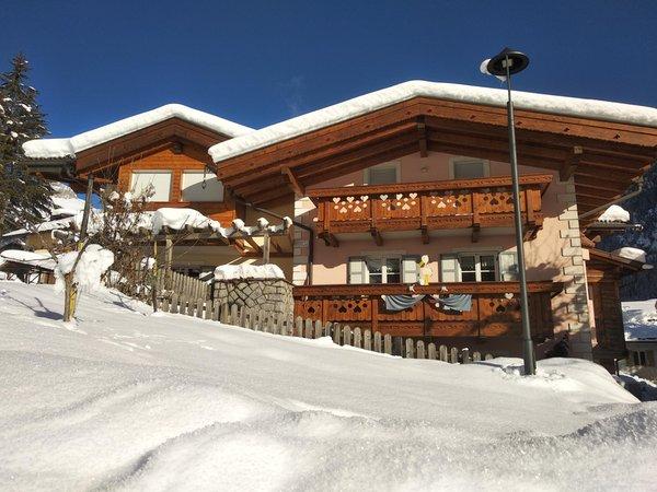Foto Außenansicht im Winter Residence Rodolon