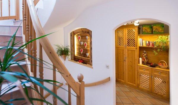 La zona giorno Unterkehrhof - Appartamenti 3 fiori