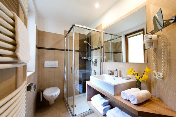 Foto del bagno Appartamenti Unterkehrhof