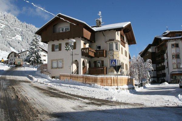 Foto esterno in inverno Villa Mersa