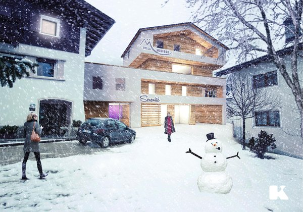 Winter presentation photo Alpin Relais b&b Villa Melisse