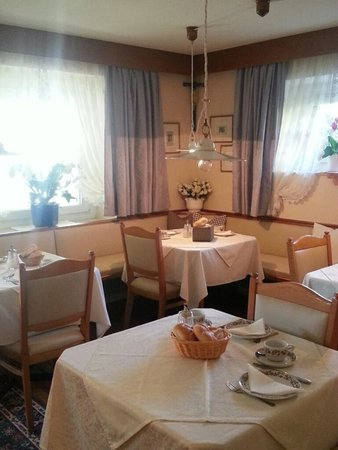 The restaurant Colfosco Alpin Relais b&b Villa Melisse