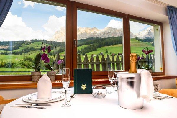 Il ristorante La Villa Blumine