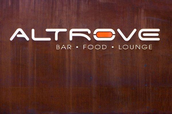 Logo Lounge Bar Altrove