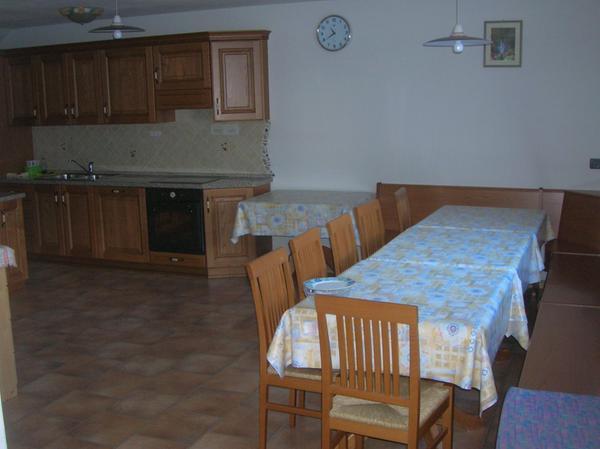 La zona giorno Deluca - Appartamenti 3 genziane