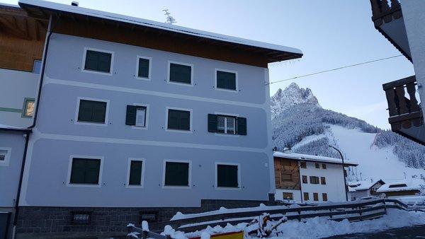 Foto Außenansicht im Winter Pescol