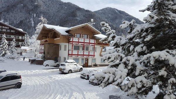 Foto invernale di presentazione Residence Cristina