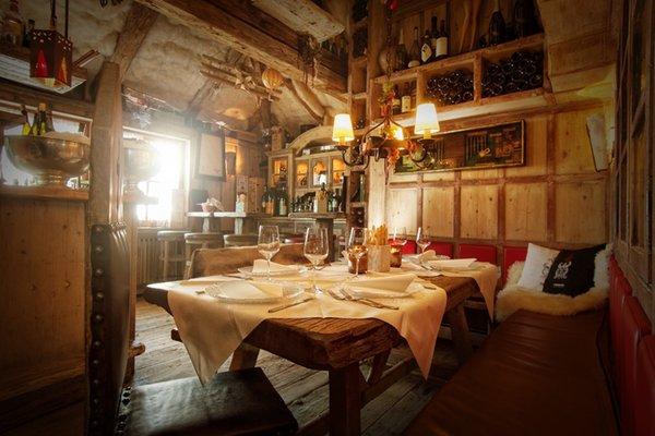 Il ristorante La Villa Club Moritzino
