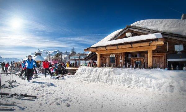 Foto invernale di presentazione Rifugio Club Moritzino