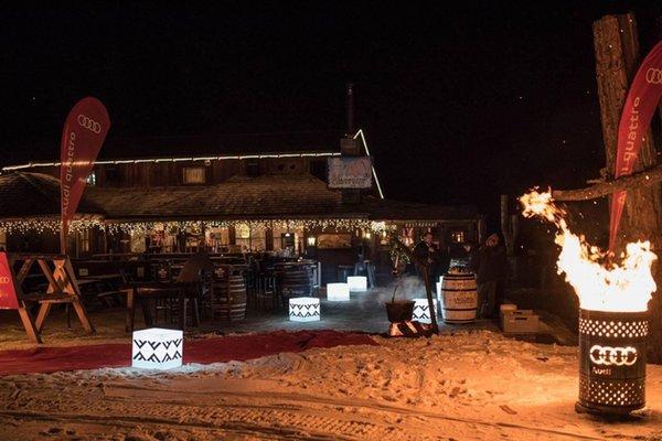 Foto esterno in inverno Club Moritzino