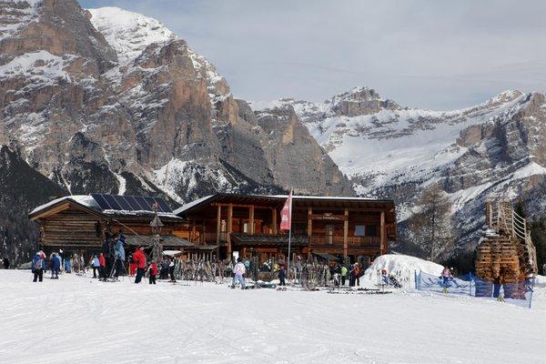 Foto invernale di presentazione Saraghes - Rifugio