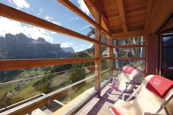 Foto del balcone Rifugio Col Pradat