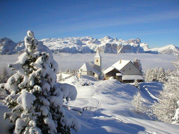 Foto invernale di presentazione Santa Croce - Rifugio