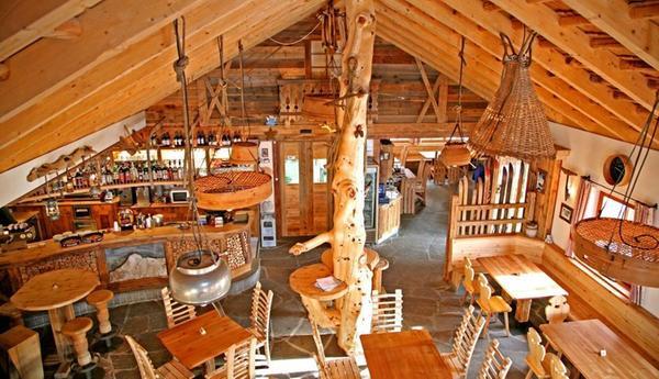 Il ristorante La Villa Ütia Bamby